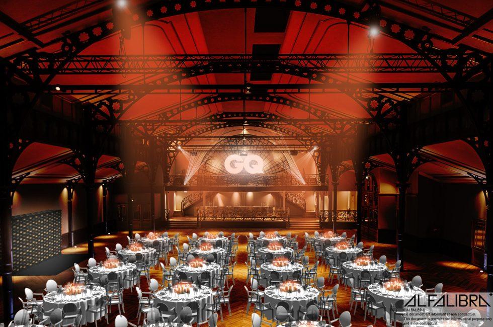 3d render for GQ Homme de l'Année