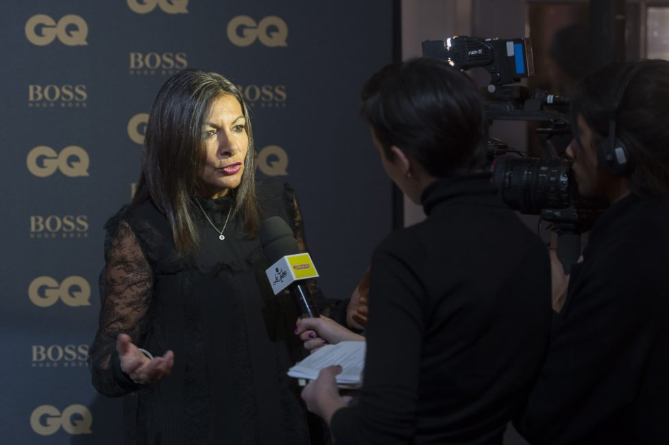 Anne Hidalgo at GQ MOTY