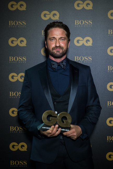Gerard Butler at GQ MOTY