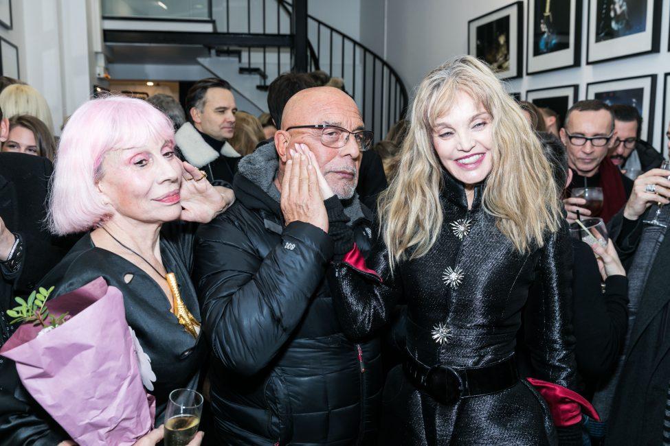 Marie Beltrami, Jean-Baptiste Mondino & Arielle Dombasle at Alfalibra Gallery